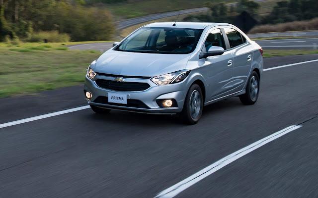 GM Onix e Prisma 2019: aumento de preços