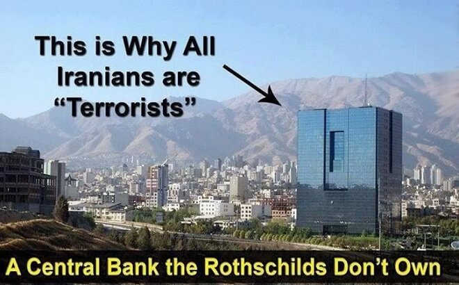 The Only 3 Countries In The World Without A Rothschild Central Bank