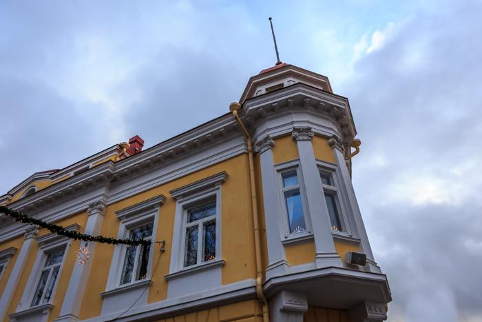 Tammisaari city info vanha rakennus keskusta