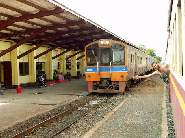 tren a ayutthaya