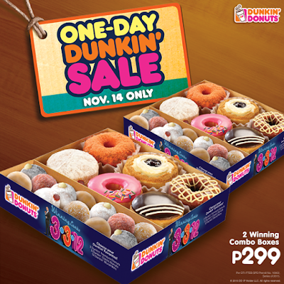 Save the Date - One-day Dunkin' Sale