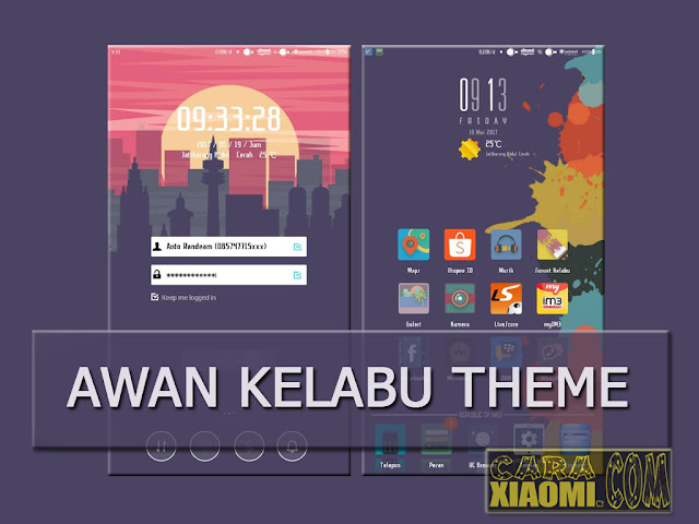 Themes For MIUI Tema Awan Kelabu Mtz New Version