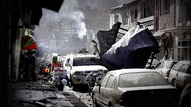 #Afganistán Al menos 63 muertos y 151 heridos tras una explosión en el centro de Kabul