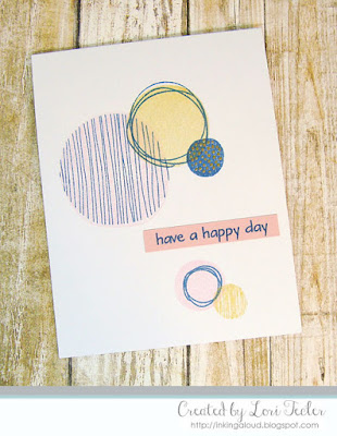 Have a Happy Day card-designed by Lori Tecler/Inking Aloud-stamps from The Stamp Market