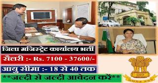 Balangir District Court Recruitment 2017 - Apply for Clerk, Typist, Stenographer