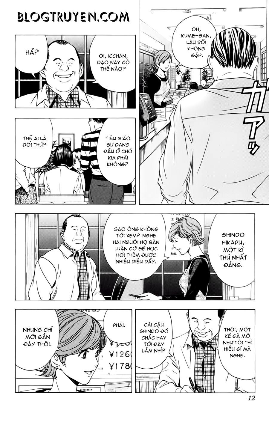 Hikaru No Go hikaru no go chap 149 trang 4