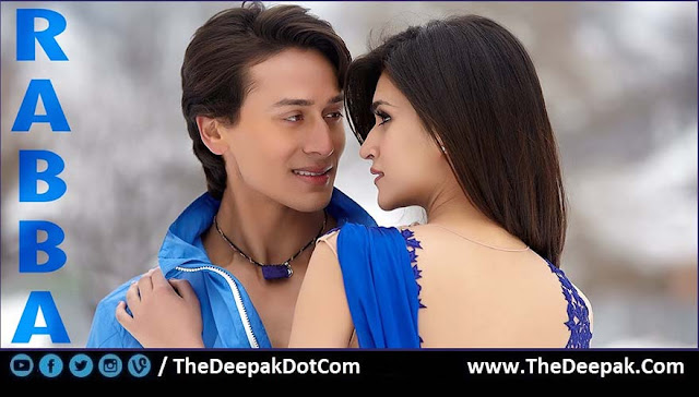 RABBA Guitar, Hindi song from the movie HEROPANTI Tiger Shroff, Kirti Sanon