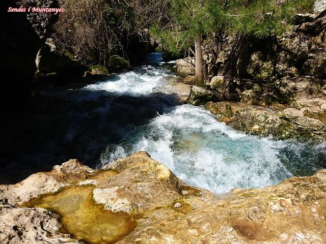 Precioso Nacimiento río Borosa, Pontones, Sierra de Cazorla, Jaén, Andalucía