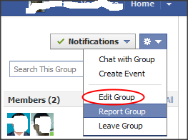 How to make User name for groups in facebook