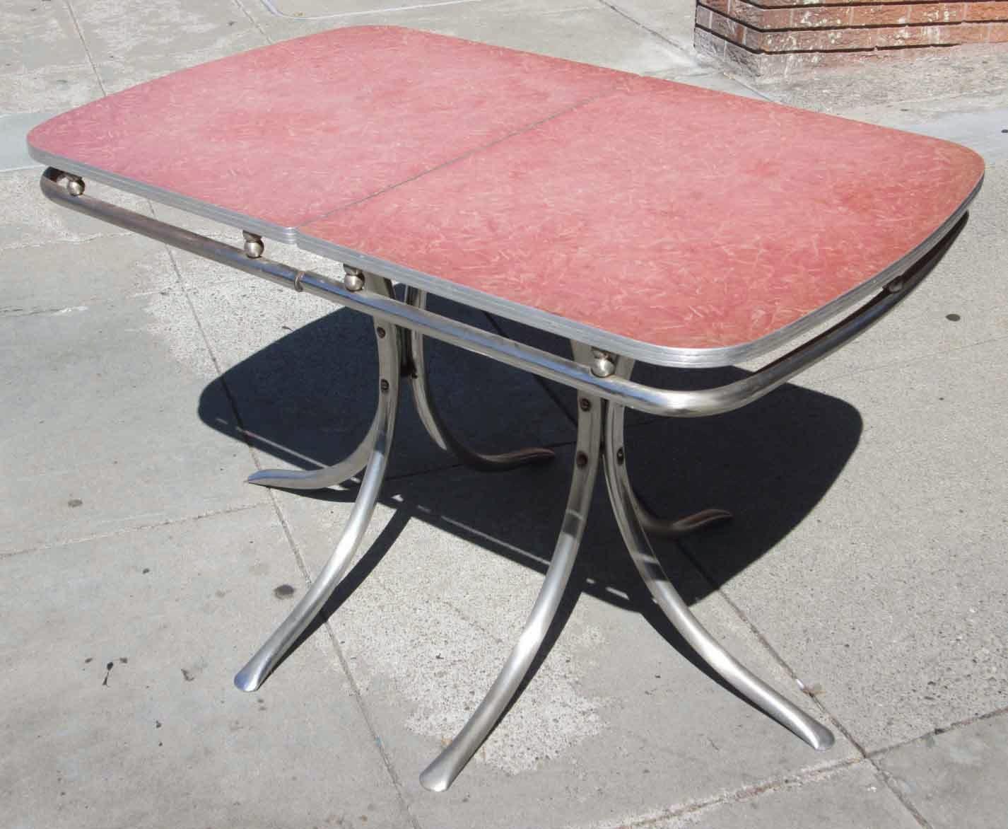uhuru furniture collectibles sold vintage formica table. Black Bedroom Furniture Sets. Home Design Ideas