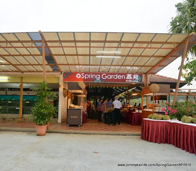 Jom makan life nostalgic tastes at spring garden for Spring garden jamaican restaurant