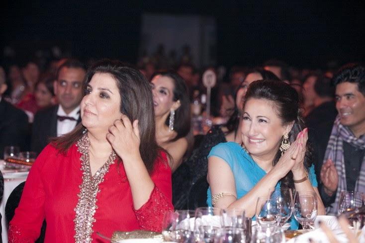 Farah Khan and Rita K Mehta, Masala! Awards 2014 Inside Pics