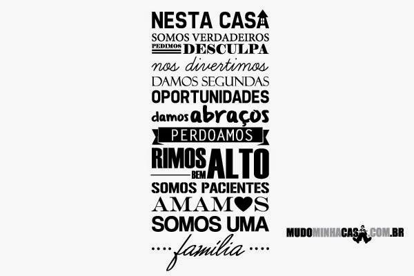O Amor Maior De Uma Família: Reencontros: A NOSSA CASA / O NOSSO LAR