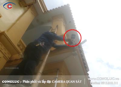 Lắp camera quan sát tại Phường An Dương