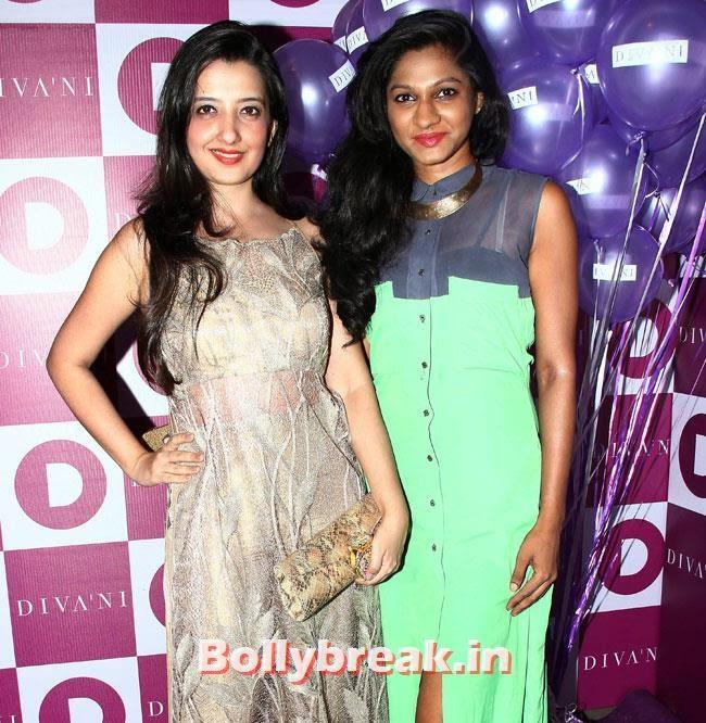 Amy Billimoria, Alia, Parineeti at Launch of Fashion Brand Diva`ni