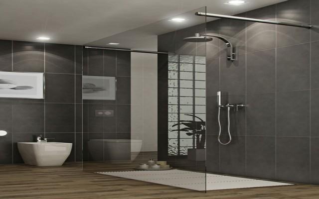Homedesignideas Eu: 45 Desain Shower Kamar Mandi Minimalis Modern