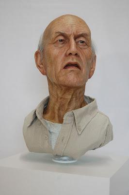 Sorprendente escultura hiperrealista