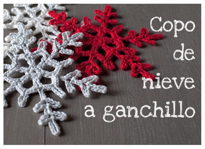 Delicadezas en crochet Gabriela: Copo de nieve paso a paso