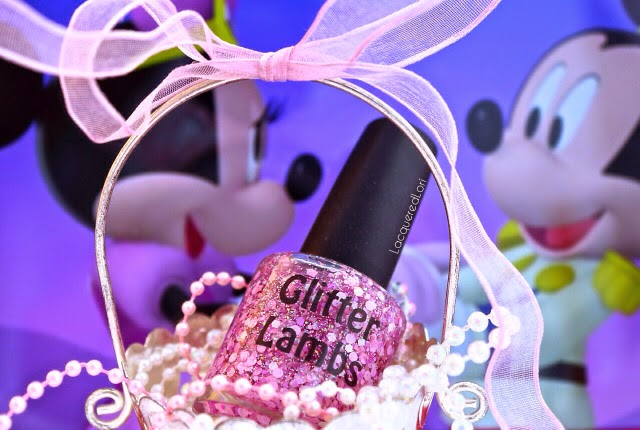 Glitter Lambs Glitter Topper Indie Nail Polish Lacquer Handmade Custom