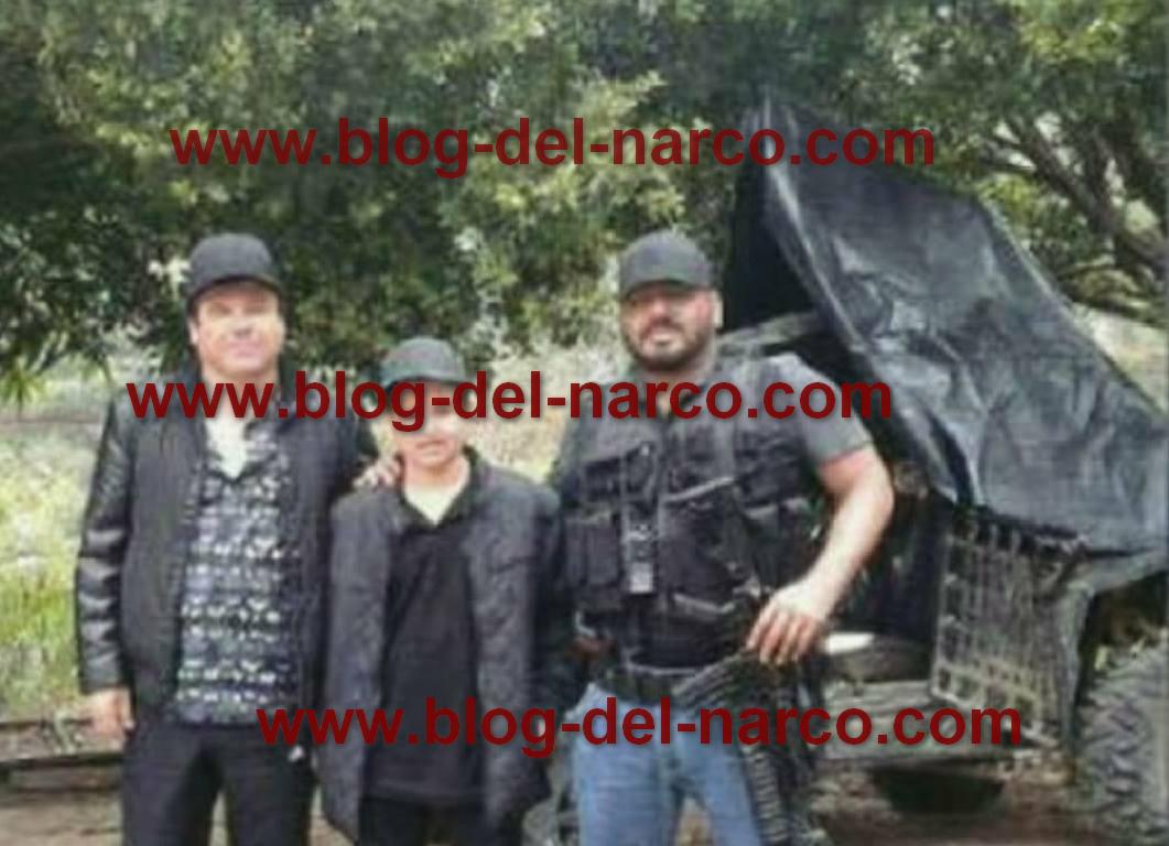 """Fotografía del Chapo Guzmán Junto a """"El Cholo  Iván"""""""