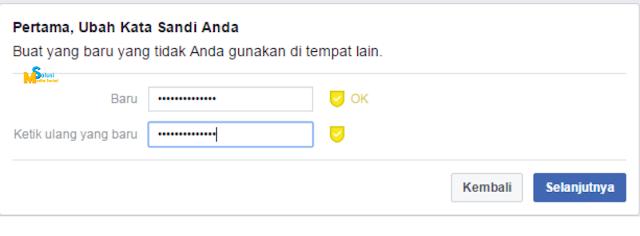 ganti password