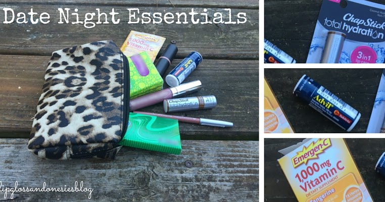 Lipgloss and Onesies Blog: Date Night Essentials