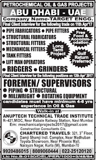 Target Engineering Company jobs in Abu Dhabi