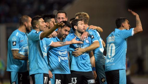 belgrano de cordoba 2 estudiantes de la plata 0 - copa sudamericana 16 avos partido de ida