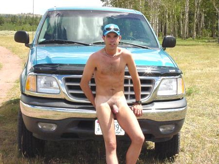 Trucks their cars and naked in men