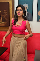 Akshita super cute Pink Choli at south indian thalis and filmy breakfast in Filmy Junction inaguration by Gopichand ~  Exclusive 030.JPG