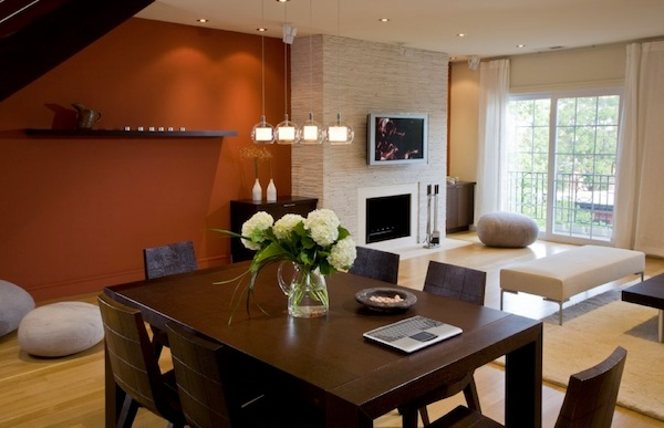 colors for dining room walls | How to Choose an Accent Wall Color Ideal For Dining Room
