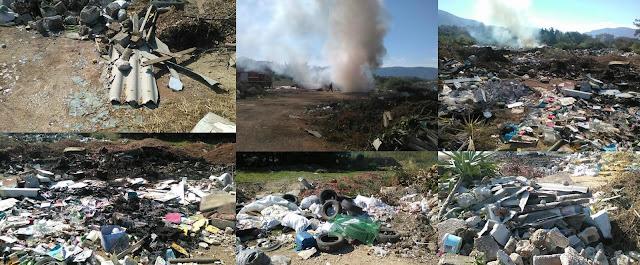 Φωτιά πριν λίγο σε παράνομη χωματερή στη Νέα Σελεύκεια Ηγουμενίτσας (+ΦΩΤΟ)