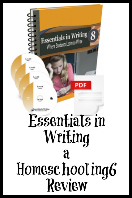 Essentials in Writing Review by Homeschooling6