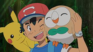 Pokemon Sun & Moon Episode 4 English Dubbed - Animepisode