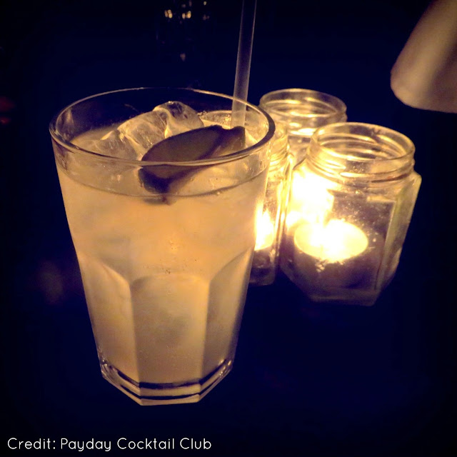 Cocktails at the Dark Circus Party Holborn
