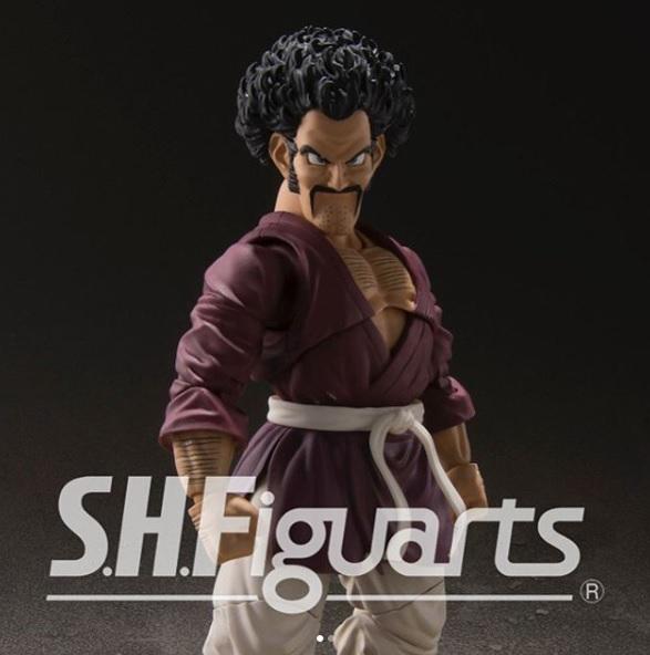 S.H.Figuarts de Mr. Satan de Dragon Ball Z - Tamashii Nations