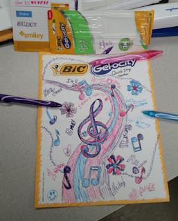 bic gelocity pens work in progress
