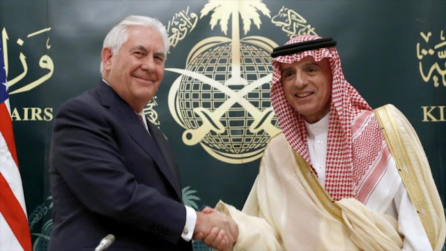EEUU declara su firme apoyo a Riad en su enfrentamiento con Irán
