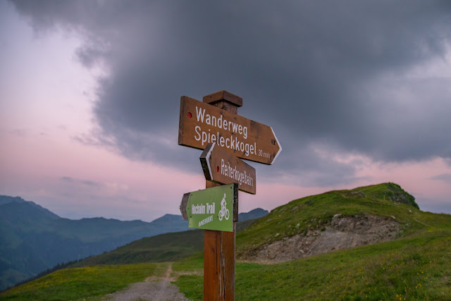 Sonnenaufgangswanderung Spieleckkogel  Wandern in Saalbach 02