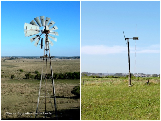 Molino de viento de establecimiento rural / Molino de la Chacra - Chacra Educativa Santa Lucía