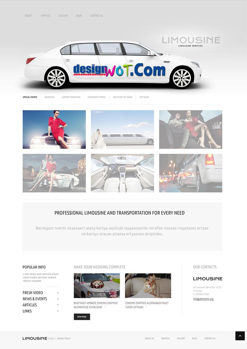 Limousine Servicesr Responsive WordPress Theme