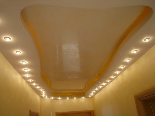 POP false ceiling designs for hall, suspended ceiling lights