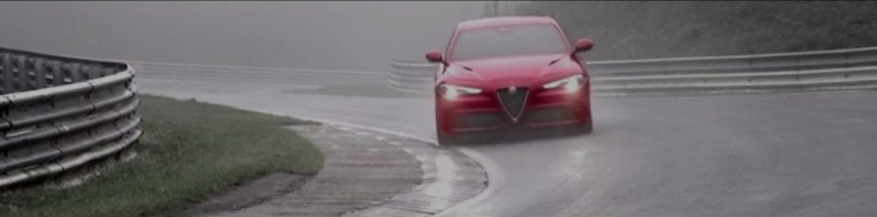 giulia%2B%2540%2Bring2 Δες το πρώτο βίντεο από το ρεκόρ της Giulia στο Nurburgring alfa romeo, Alfa Romeo Giulia QV, Nurburgring, video, videos, zblog