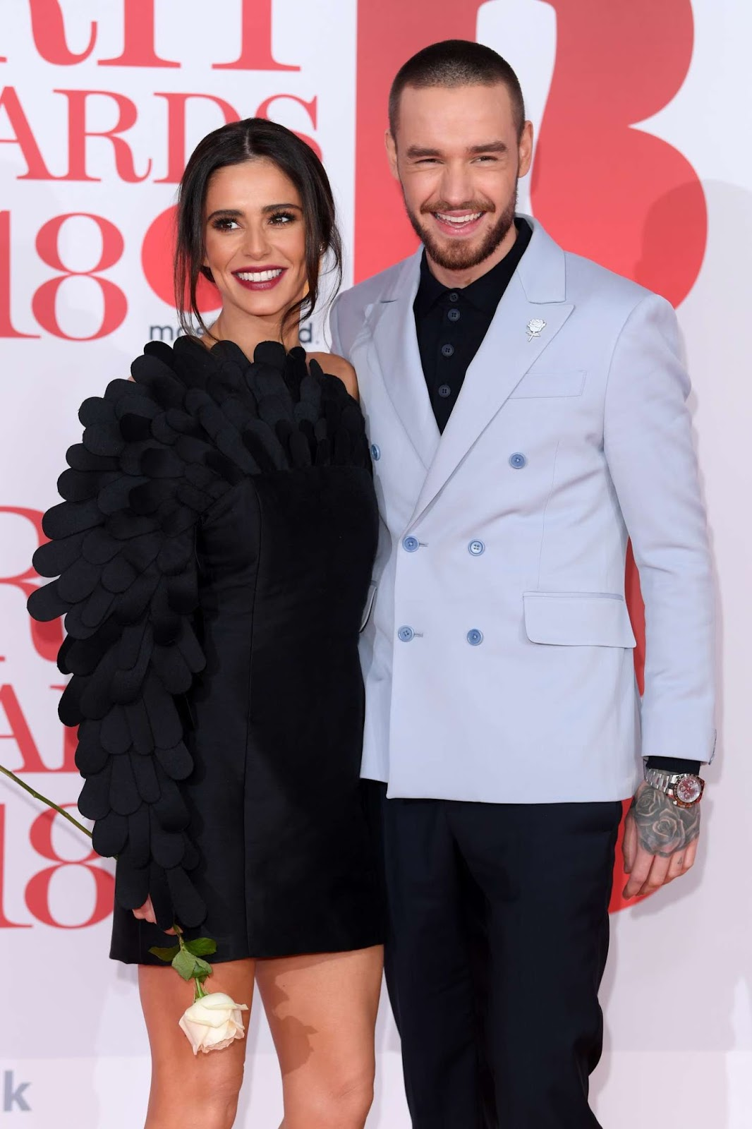 Cheryl and Liam Payne get close at the 2018 BRIT Awards