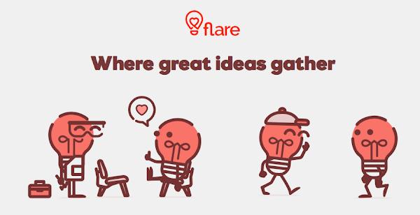 創業點子夠吸引人嗎? 新平台Flare邀社群一起來評價!