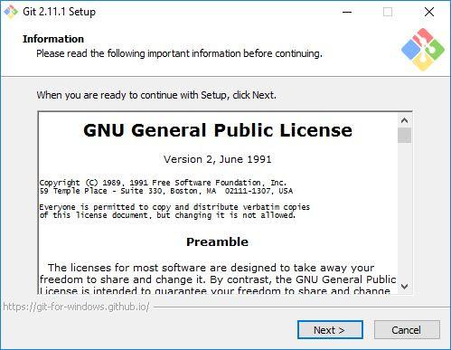 Informasi tentang Git