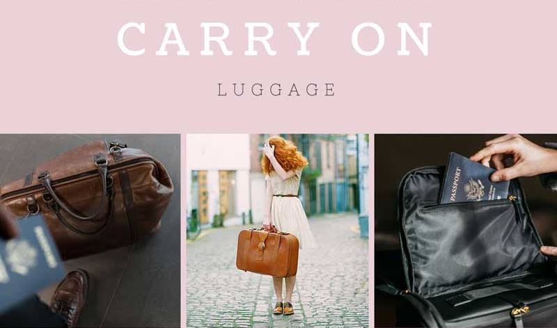 VLOG: What To Pack On Your Carry On Luggage (Long Haul Flight)