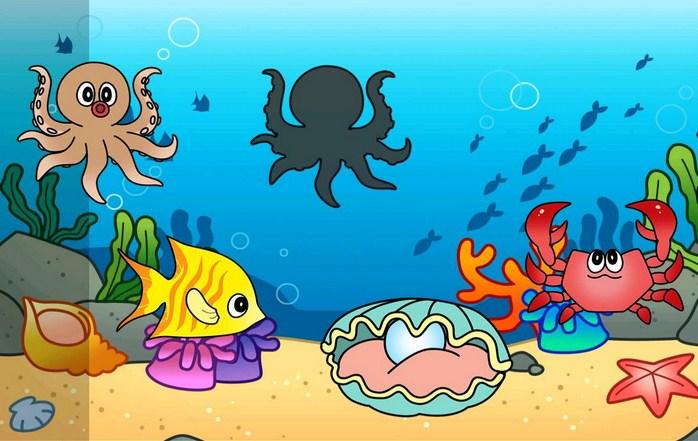 Lukisan Pemandangan Hidupan Di Dasar Laut Brad Erva Doce Info
