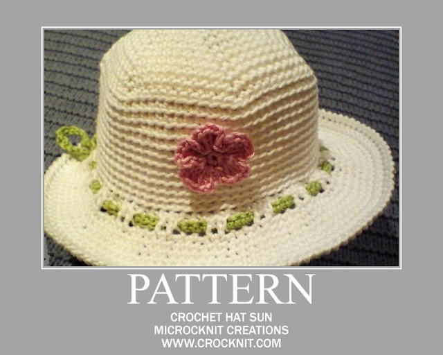 crochet patterns, how to crochet, sun hats, summer hats, baby hats,
