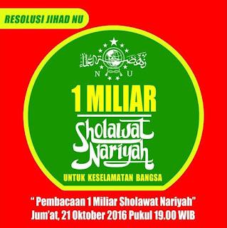 1 miliar shalawat nariyah
